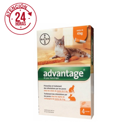 Advantage Hasta 4 Kg - 62734