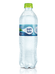 Agua San Luis sin Gas 600 ml.