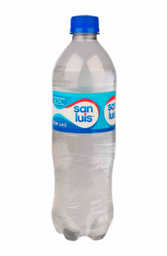 Agua San Luis con Gas 600 ml.