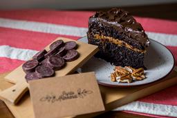 2 Porciones de Torta de Chocolate