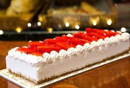 Cheesecake Fresa Rectangular