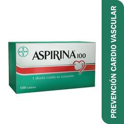 Aspirina 100 Prevención Cardiovascular 100 Mg Blister X 10