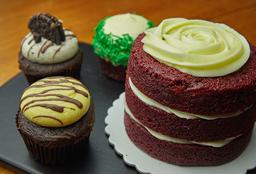Mini torta, mas promo cupcakes x3