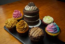 Chiqui Torta, mas promo cupcakes x6