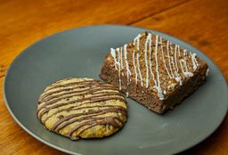 Galleta mas Brownies