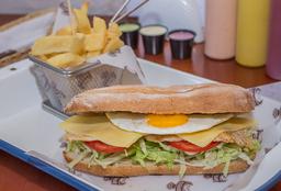 Sandwich de Pollo Tacuchi