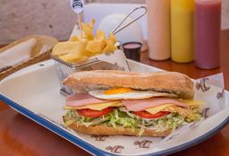Sandwich de Pollo Cholo Power
