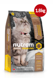 NUTRAM T22 TotalGrain-Free(Pavo,pollo&pato)1.8Kg+Catsip ¡Gratis!