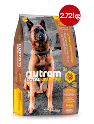 Comida Perros NUTRAM-T26 TotalGrain-Free Allergy (Cordero 2.72kg
