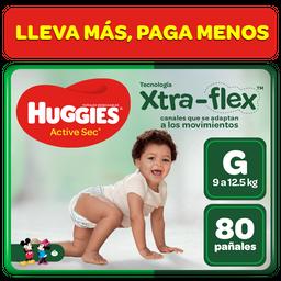 Huggies Pañal Active Sec Talla G