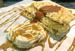 Waffles Choco-Caramel