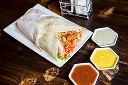 Kebab Enrrollado Pollo + Chicha
