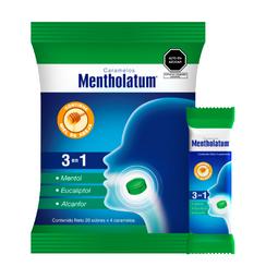 Caramelo Mentholatum X 1 Sobre X 4 Caramelos