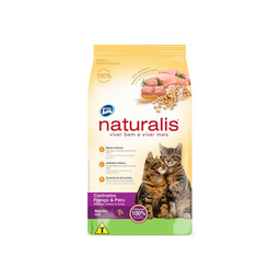 Naturalis Gato Adulto Castrados Frango & Peru 1kg