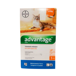 Advantage – Pipeta Antipulgas Gatos hasta 4Kg