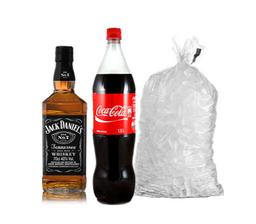 Jack Daniels N 7 + Coca Cola 1.5litros + hielo