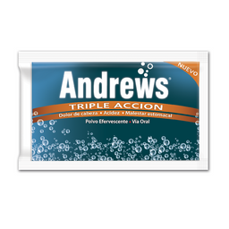 Andrews Triple Acción X 1 Sachet 7,9 Gr