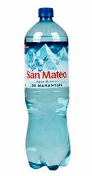 Agua San Mateo Con Gas