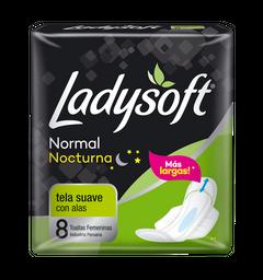 Ladysoft Nocturna Con Alas 8 Unidade