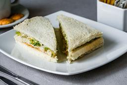 Sandwich Triple De Alcachofa