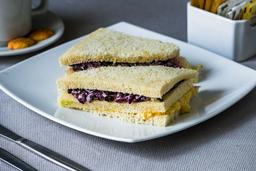 Sandwich Aceituna Negra