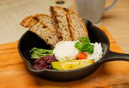 Desayuno Huevos Mediterráneos