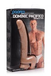 """Dildo Realista Dominic Pacifico 8.5"""""""