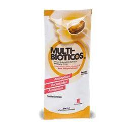Multibioticos Menta/Miel Sobre X 4