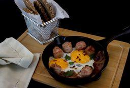 Huevos Fritos y Chorizos