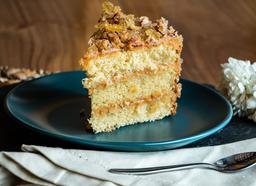 Torta de Caramelo con Almendras