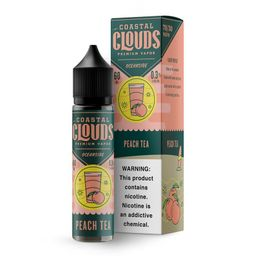 Liquido Coastal Clouds Blood Peach Tea 0mg