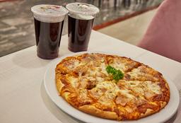 Combo de Pizza Familiar + Litro de Chicha