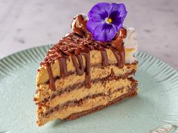 Porción Bruselina de Chocolate con Lúcuma