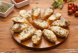 Pan al ajo Grana Padano
