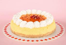 Porción Cheesecake de Maracuyá
