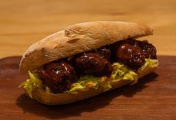 Sándwich Chicken BBQ