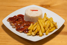 Chanchito en Salsa BBQ