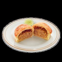 Empanada de Carne en Masa Hojaldre