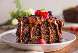 Torta de Chocolate con Fudge Casero