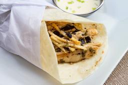 Chicken Burrito Con Chimichurri