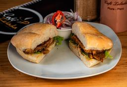 Sándwich de Lechón