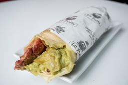 Enchilada de Hot Dog + Pepsi