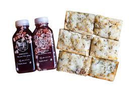 Pan al Ajo Especial + 2 Sangrías