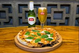 Pizza Margarita  + 1StellaArtois