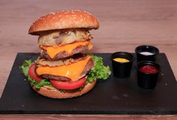 Hamburguesa Doble Atrackon