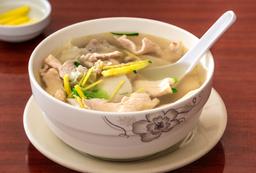 Sopa de Pollo con Kion