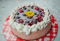Postre  ¡NUEVO! Cheesecake de Frutos Rojos (12p)