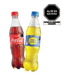 02 Coca Cola (Regular/Zero) 500 Ml