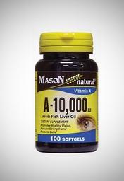Mason Vitamina A 10000 UI Fcox100 Softgels