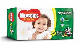 Huggies Actisec XG x 48 Pañales